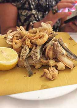 ristorante frittura di pesce