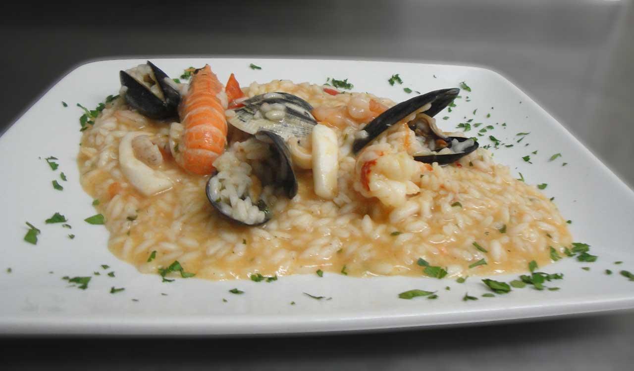 ristorante menu pesce
